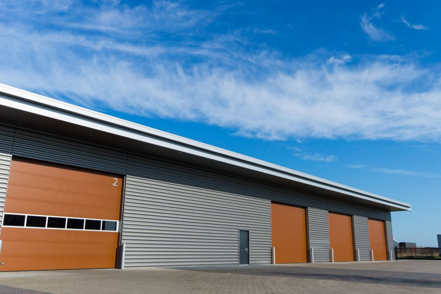 Commercial Storage Warehouse and Fleet Garage Maintenance Bays